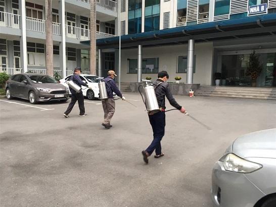 Đại học Điện lực tăng cường phòng, chống dịch Covid-19
