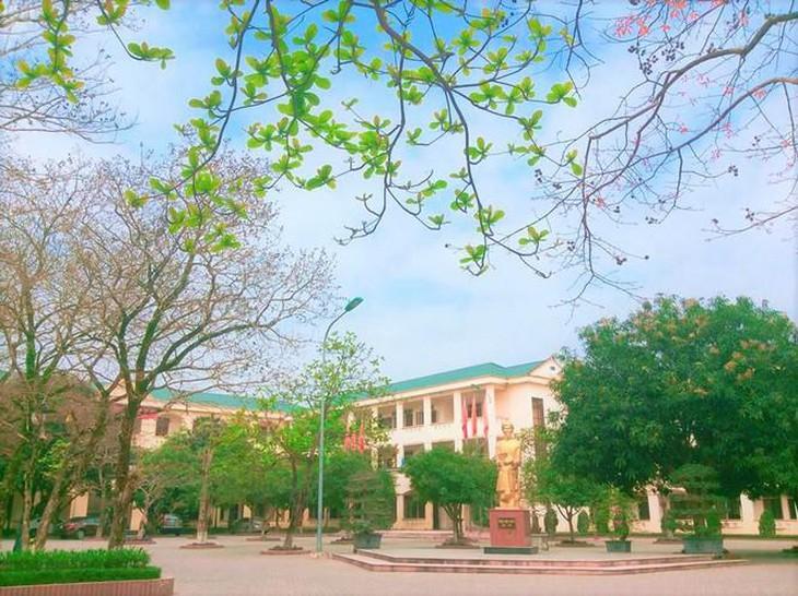 Nghệ An: Công bố nhà thầu xây mới Trường THPT chuyên Phan Bội Châu