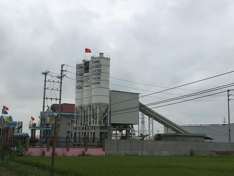 Bắc Giang: Lấn chiếm gần 1000m2 đất nông nghiệp, Công ty Quốc An bị xử phạt