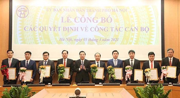 Sở Xây dựng Hà Nội có 2 tân Phó Giám đốc