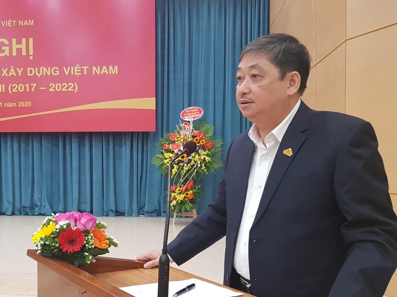 Tổng hội Xây dựng Việt Nam tiếp tục đóng góp sức mình vào mục tiêu phát triển đất nước