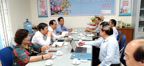 Tăng cường hợp tác giữa Tổng hội Xây dựng Việt Nam và Hội khoa học và Công nghệ Hàng không Việt Nam