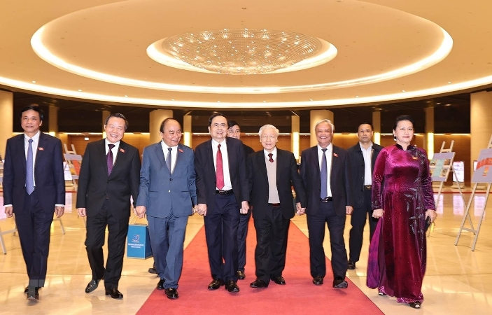 Trang trọng buổi gặp mặt các thế hệ đại biểu Quốc hội Việt Nam