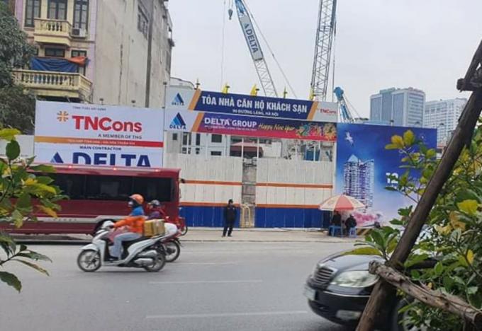 TNR: Rao bán căn hộ du lịch tại Dự án TNR The Nosta ̣̣90 đường Láng dù không được phép