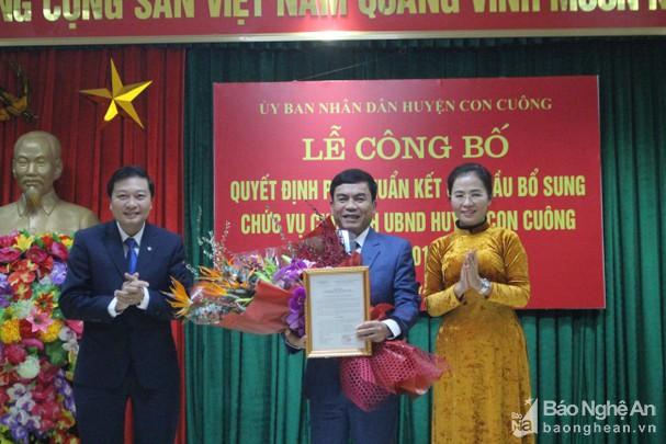 Con Cuông có tân Chủ tịch UBND huyệnCon Cuông có tân Chủ tịch UBND huyện