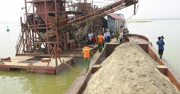 Thanh tra Chính phủ: Xung đột khai thác cát ở Hoà Bình gây mất an ninh trật tự