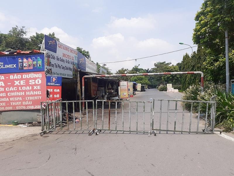 Chốt ngày xử lý, tháo dỡ các công trình vi phạm tại Khu đô thị Thành phố Giao lưu
