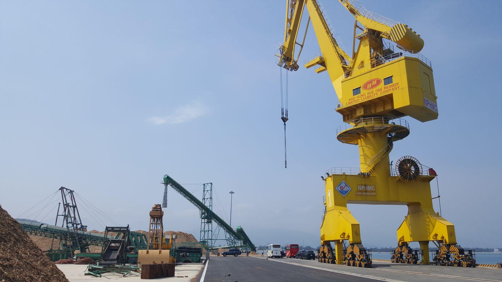 Bến số 3 cảng Chân Mây sẽ đi vào hoạt động giữa tháng 6/2021