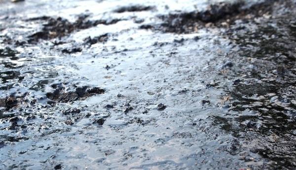 Nghệ An: Quốc lộ 7B vừa làm xong đã bong tróc, chảy nhựa