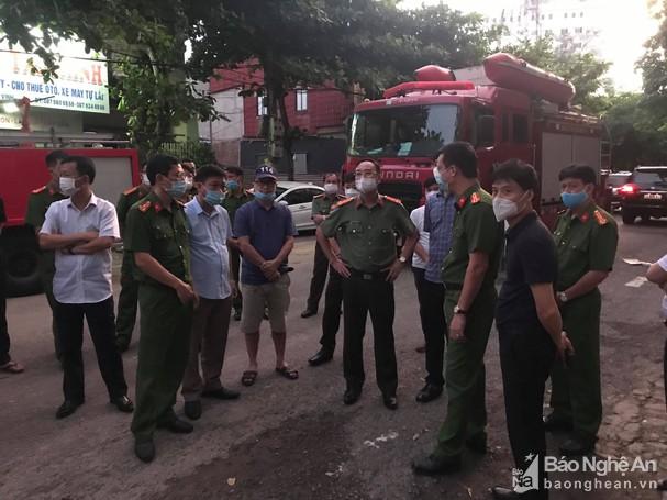 Công an Nghệ An thông tin về vụ cháy khiến 6 người tử vong ở TP Vinh
