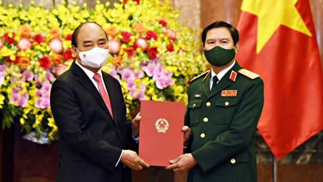 Chủ tịch nước bổ nhiệm Tổng tham mưu trưởng Quân đội nhân dân Việt Nam
