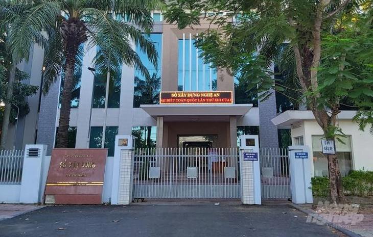 Sở Xây dựng Nghệ An xin lỗi 2 nhà thầu bị loại