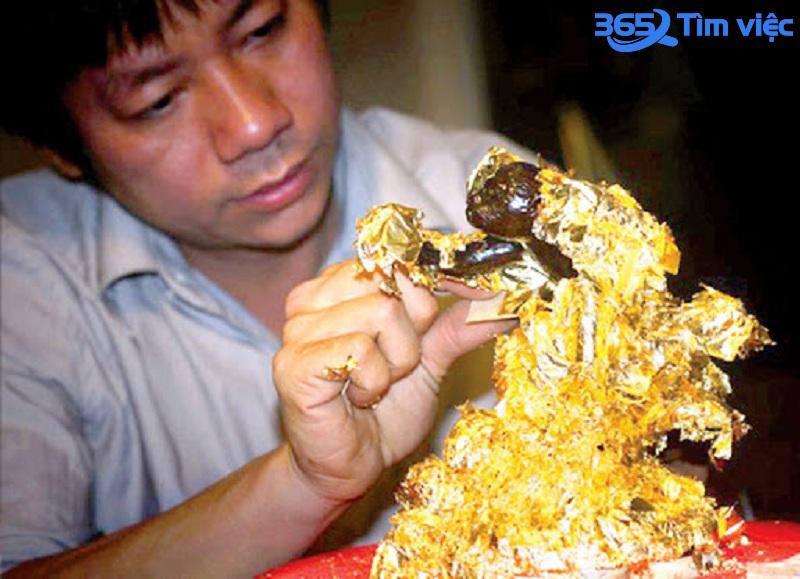 Làng nghề dát vàng duy nhất của Việt Nam